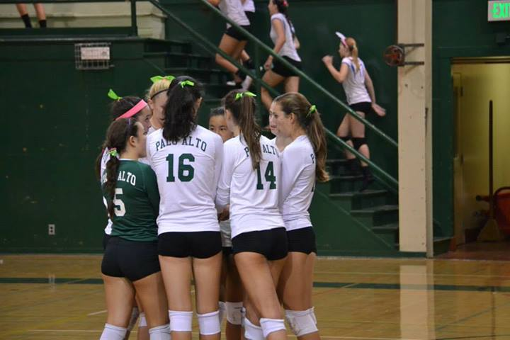 Volleyball upsets Presentation in five sets