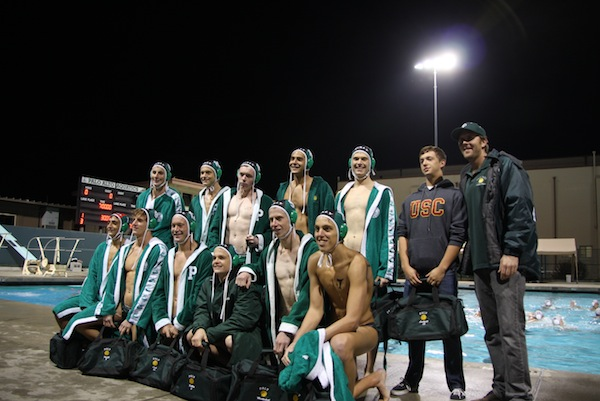 The boys' water polo team will lose eleven seniors after this season. The Vikings defeated the Monta Vista Matadors 14-7 on senior night.