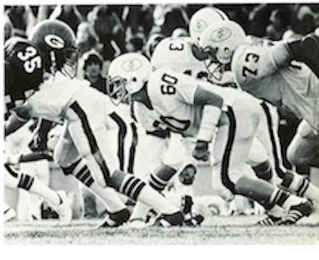 Steve Silver ('78) playing against Gunn. The Vikings would go on to win the City Championship in 1978.