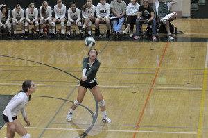 Vikings volleyball triumph over crosstown rival Gunn in four sets