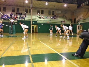 Volleyball falls to Los Altos in three sets during final home game of the season