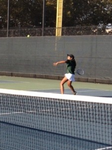 Girls' tennis dominates Sacred Heart Prep 6-1