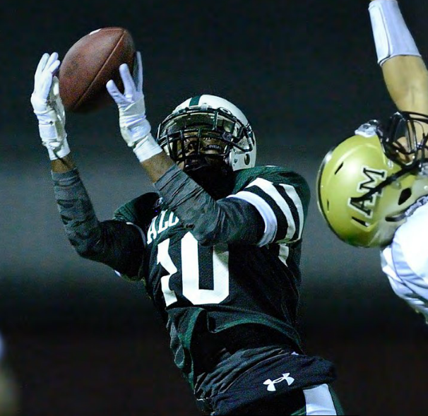 In a divisional Central Coast Section (CCS) championship game, the Paly Vikings were down 10-6 to Archbishop Mitty. Paly wide receiver Davante Adams ('11) was found in the back of the end zone for a miracle catch to win the game 13-10, a win that led to the Paly capture of the California Interscholastic Federation (CIF) state championship.