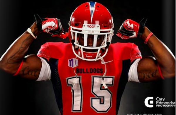 NFL hopeful Davante Adams ('14) comes into the Scouting Combine with 233 receptions for over 3,000 yards and 38 touchdowns in his two years at Fresno State.