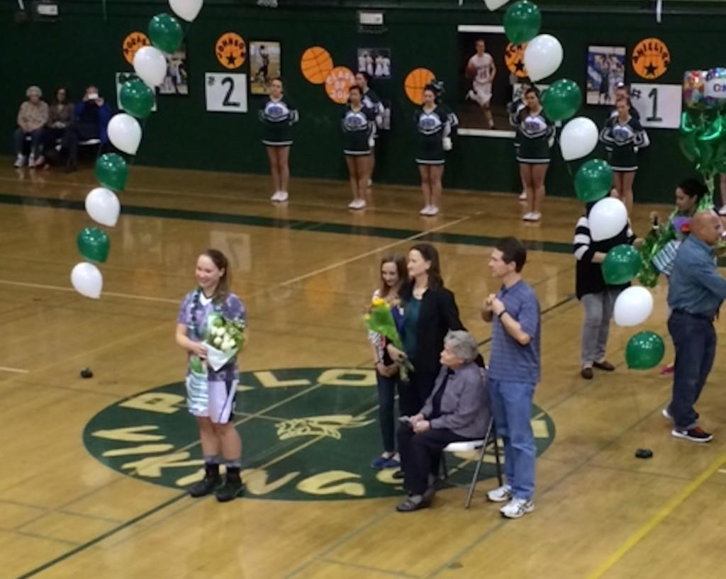 Girls' basketball falls 37-31 on senior night