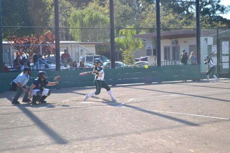 Paly softball clobbers Lynbrook in first league game