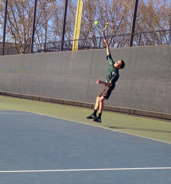 Boys+tennis+falls+to+Saratoga