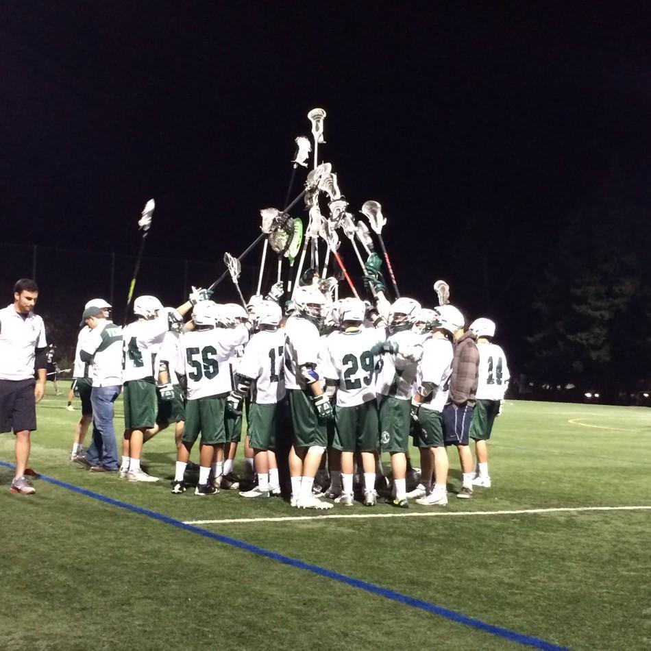 Boys%27+lacrosse+triumphs+over+Archbishop+Mitty%2C+16-5