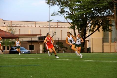 Girls' lacrosse prevails, beating Gunn High School 10-9