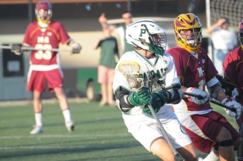 Boys' lacrosse drops SCVAL semifinals to Menlo Atherton