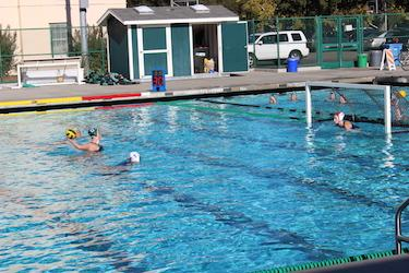 Girls' water polo secures a win against Los Altos, beating the Eagles 3-2