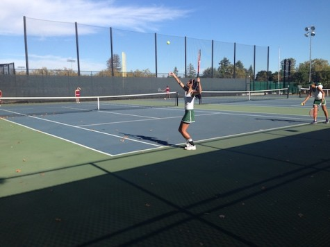 Girls' tennis remains undefeated with 5-2 victory over Cupertino