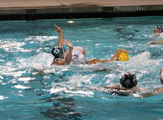 Girls' water polo wins 12-7 against Woodside in first round of CCS