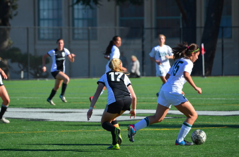 Girls' soccer triumphs 2-0 over defending CCS Champions