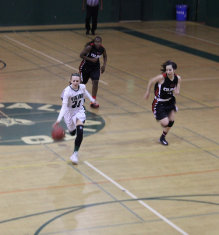 Girls' basketball triumphed over the Titans
