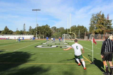 Paly Boys' Soccer beats Santa Teresa 4-0 in first game of CCS tournament.