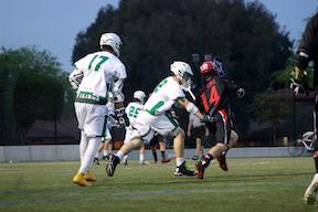 Boys' Lax dominates crosstown rivals Gunn, 11-3