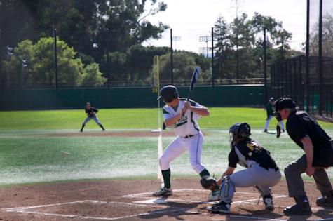 Baseball crushes Mountain View 9-2 in league opener
