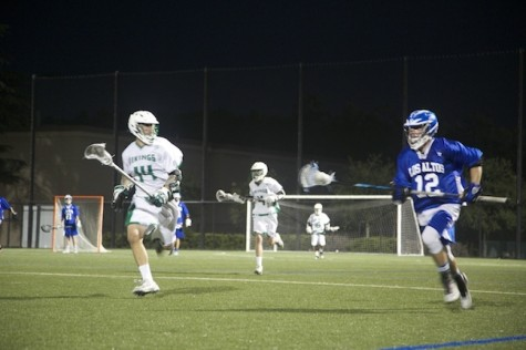 Boys' lacrosse takes down Los Altos 17-4