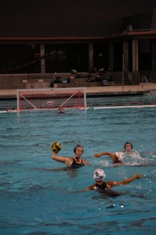 Girls Water Polo wins close contest 6-5 against Gunn