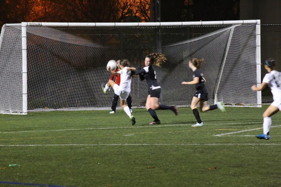 Girls' soccer triumphs over crosstown rival Gunn 4-0