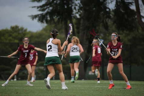 Girls' lacrosse defeats crosstown rival Gunn 11-6
