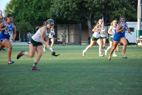 Girls lacrosse routs Wilcox 14-2 to secure a senior night victory