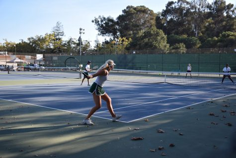 Girls Tennis loses to Cupertino 4-3