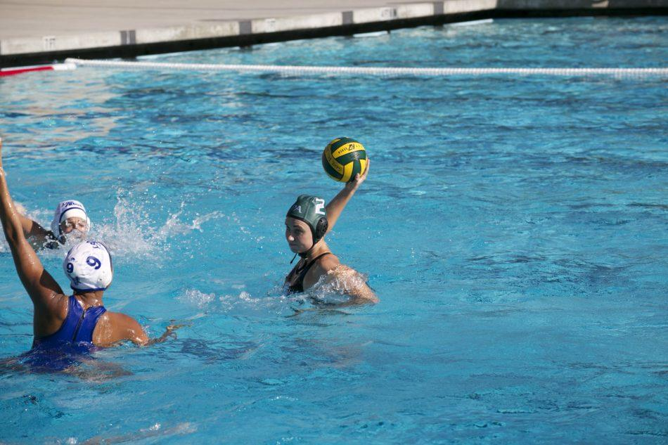Girls' water polo suffers a tough loss in physical game against league opponent Los Altos 7-4