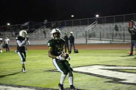 Paly Football defeats Wilcox in a close game last night, 25-21
