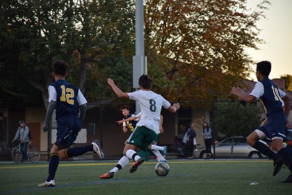 Play boys' soccer dominates over Milpitas 9-0