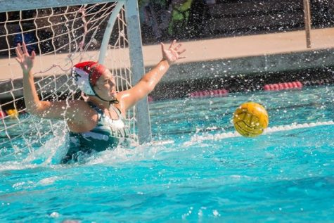 Girls Water Polo Defeated 9-6 by Los Altos