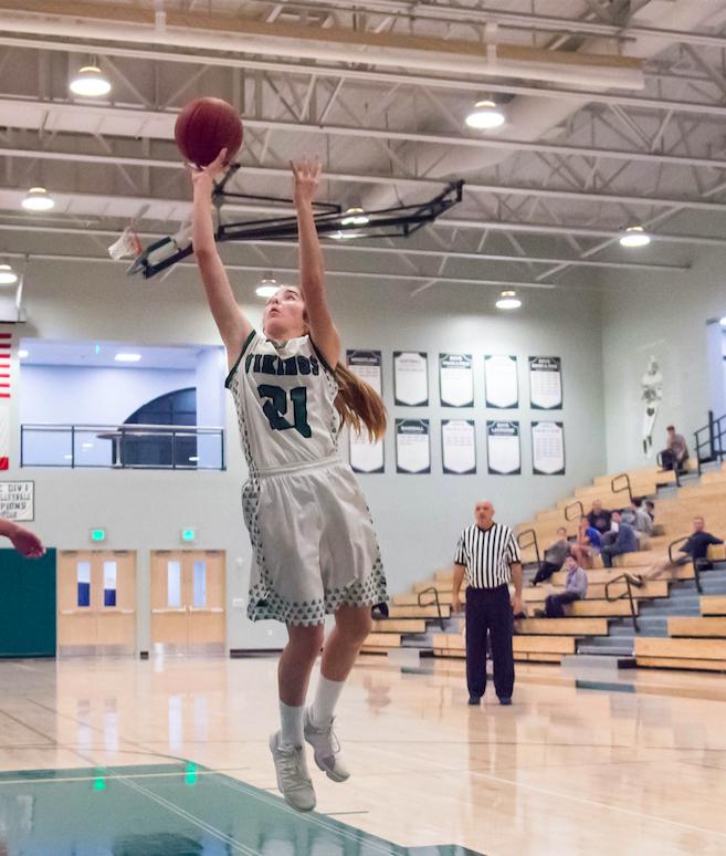 Girls basketball takes down Mountain View 58-37