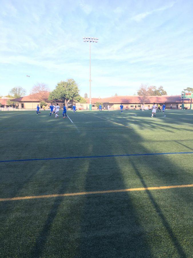 Boys' Soccer defeats Santa Clara