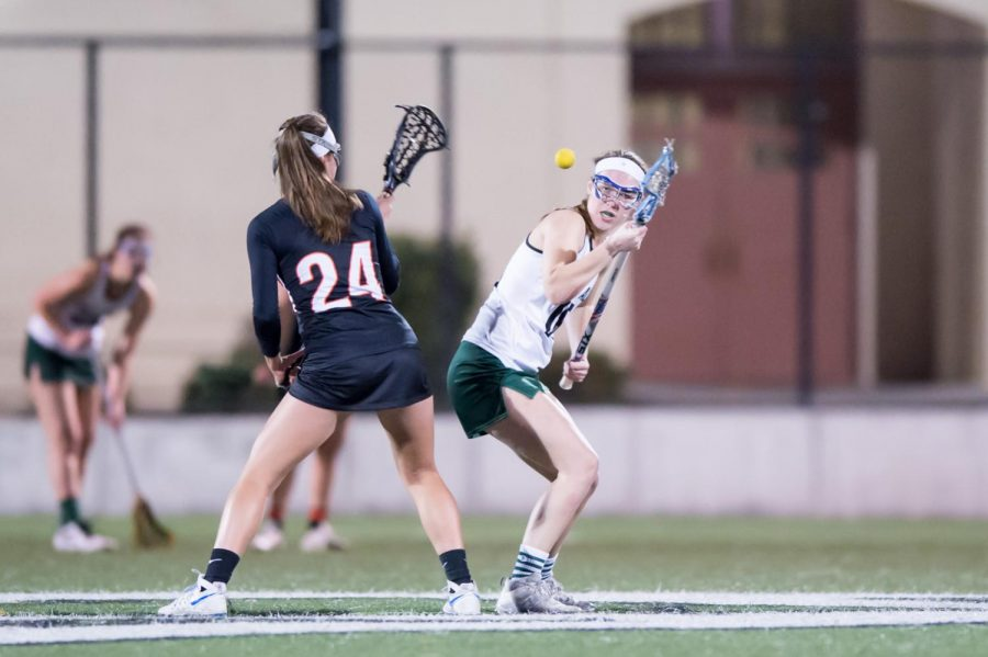 Girls lacrosse falls to cross-town rival Gunn 14-8