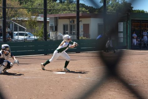 Softball goes 0-2 against Marin Catholic