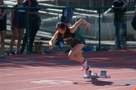 Boys' track falls to Mountain View