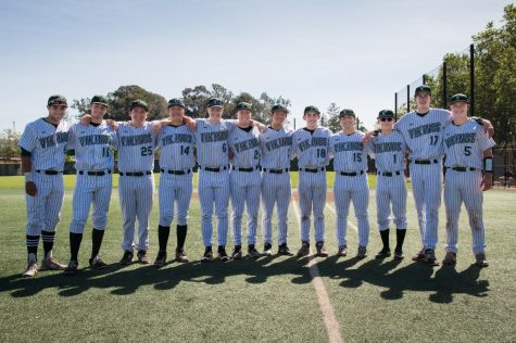 Baseball Rallies to Defeat Wilcox on Senior Night