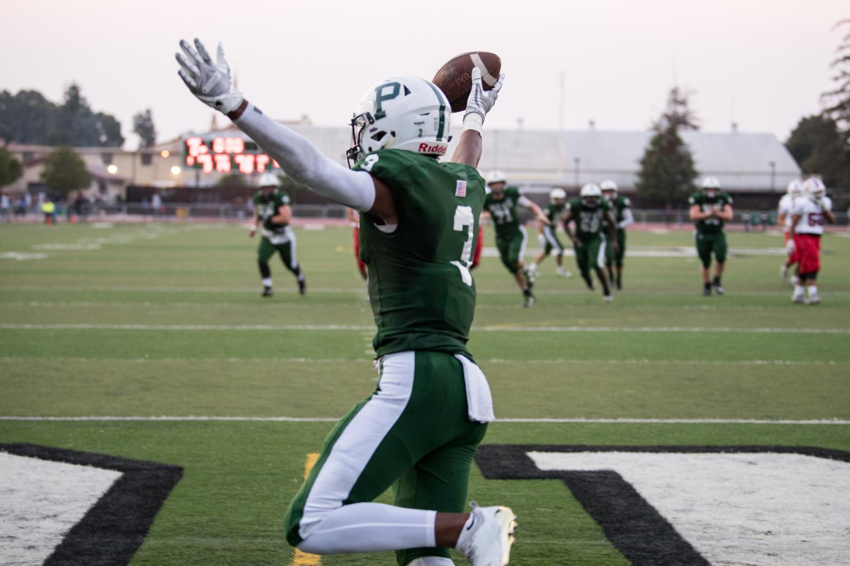 Jamir Shepard celebrates a touchdown