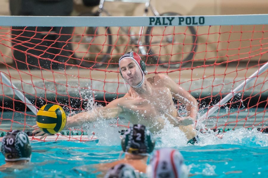 Senior Ben Rapaport will be returning for his fourth season as the varsity goalie for Paly.