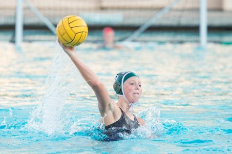 Girls Water Polo Looks to the Future After Loss to Mountain View 8-7