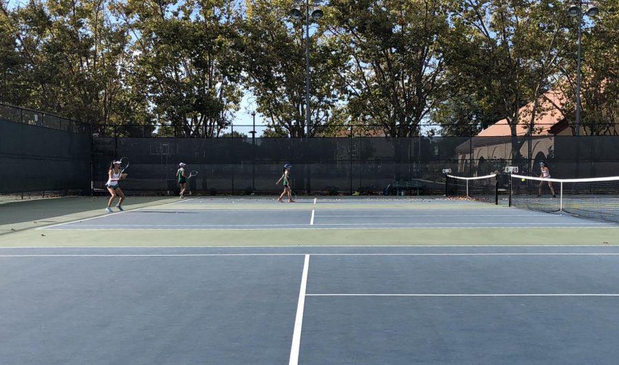 Girls Tennis Defeats Homestead Mustangs 5-2