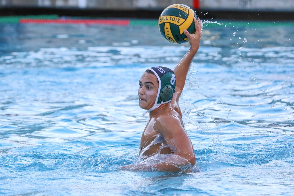 Palo Alto High School Varsity Boys Water Polo vs. Mountain View.