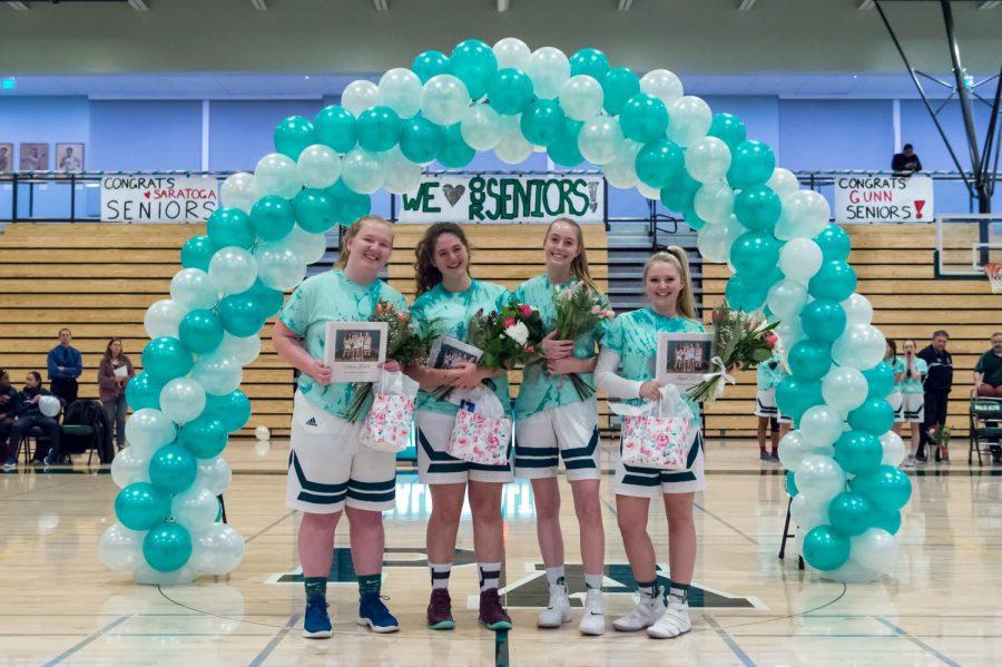 Girls Basketball Defeats Saratoga 51-40 on Senior Night