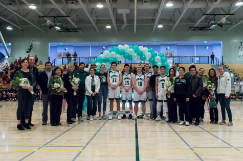Boys Basketball Dominates Gunn on Senior Night