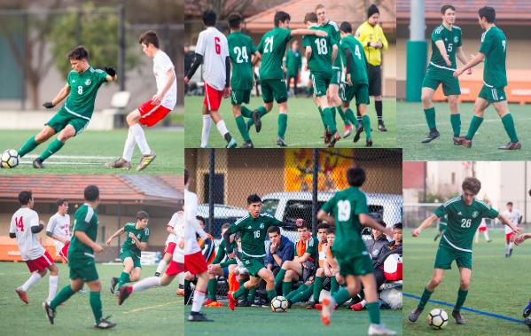 Boys Soccer Team Beats Saratoga 5-0