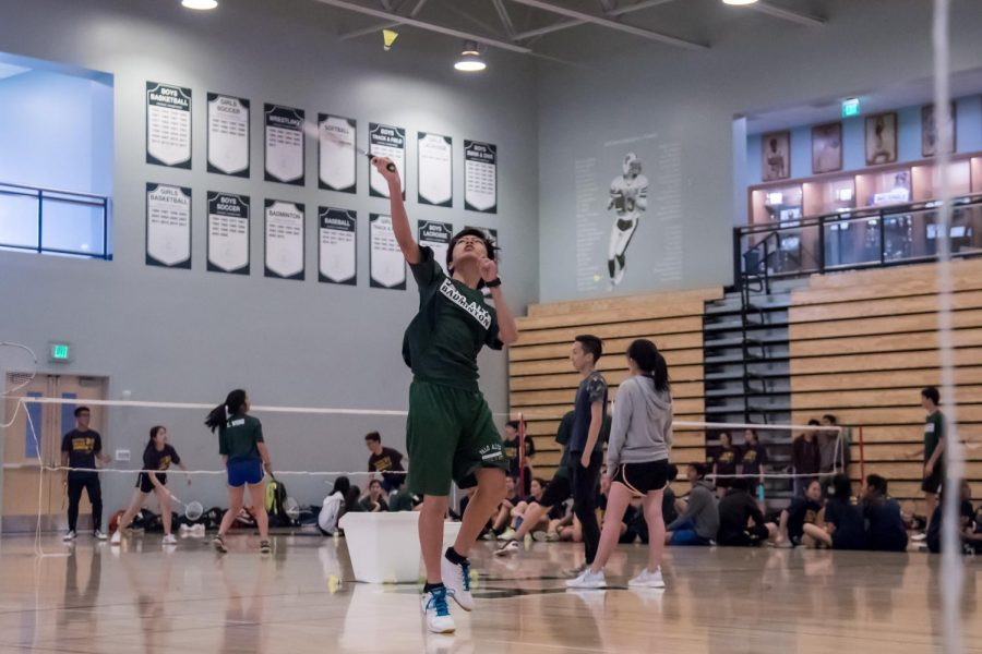 Vikings Badminton falls to Cupertino 21-9