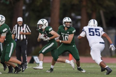 Football routs Overfelt 47-8