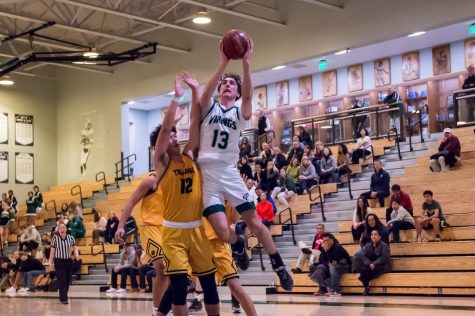 Ryan Purpur and Matt Marzano lead a balanced Viking attack as the Vikes beat Milpitas, 58-47