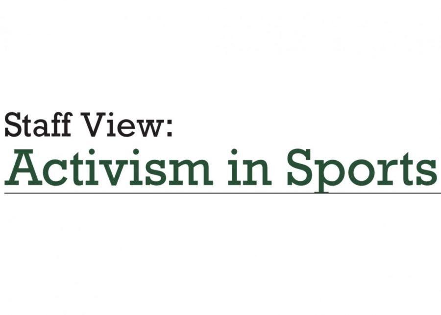 Staff View: Politics In Sports